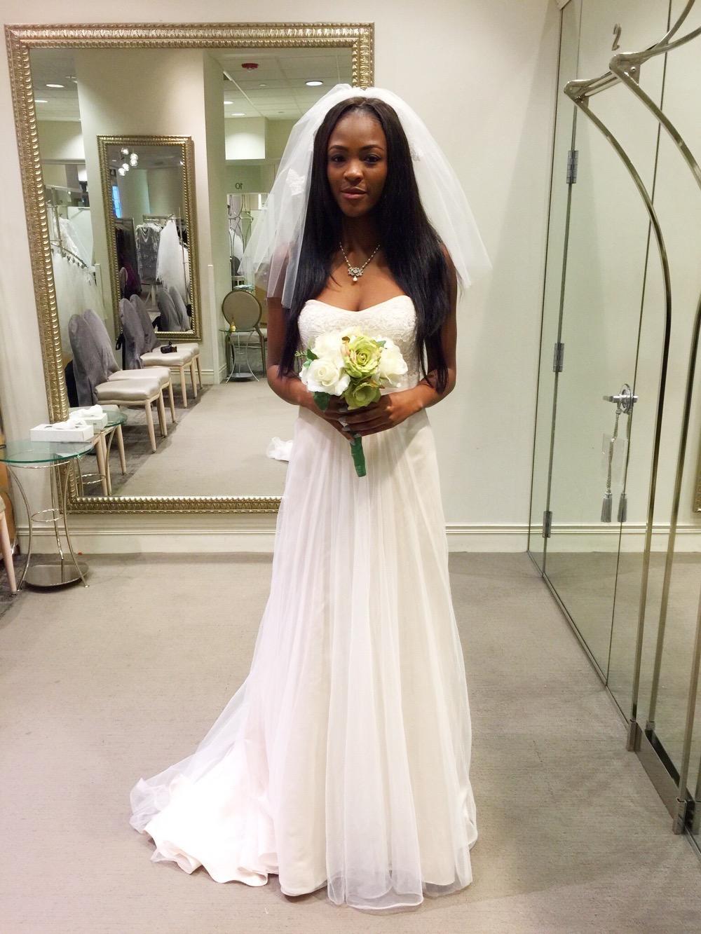 Affordable Elegant Wedding Gowns by David's Bridal 3