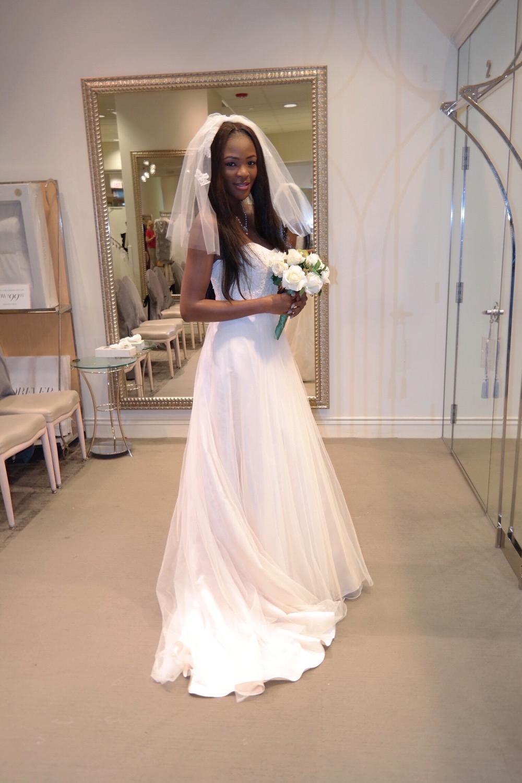 Affordable Elegant Wedding Gowns by David's Bridal 36