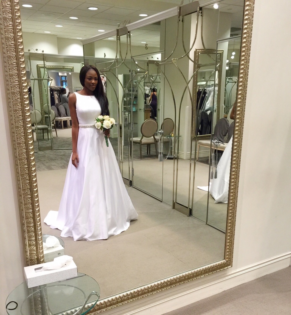 Affordable Elegant Wedding Gowns by David's Bridal 6