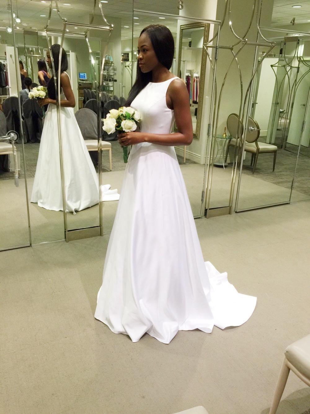 Affordable Elegant Wedding Gowns by David's Bridal 7