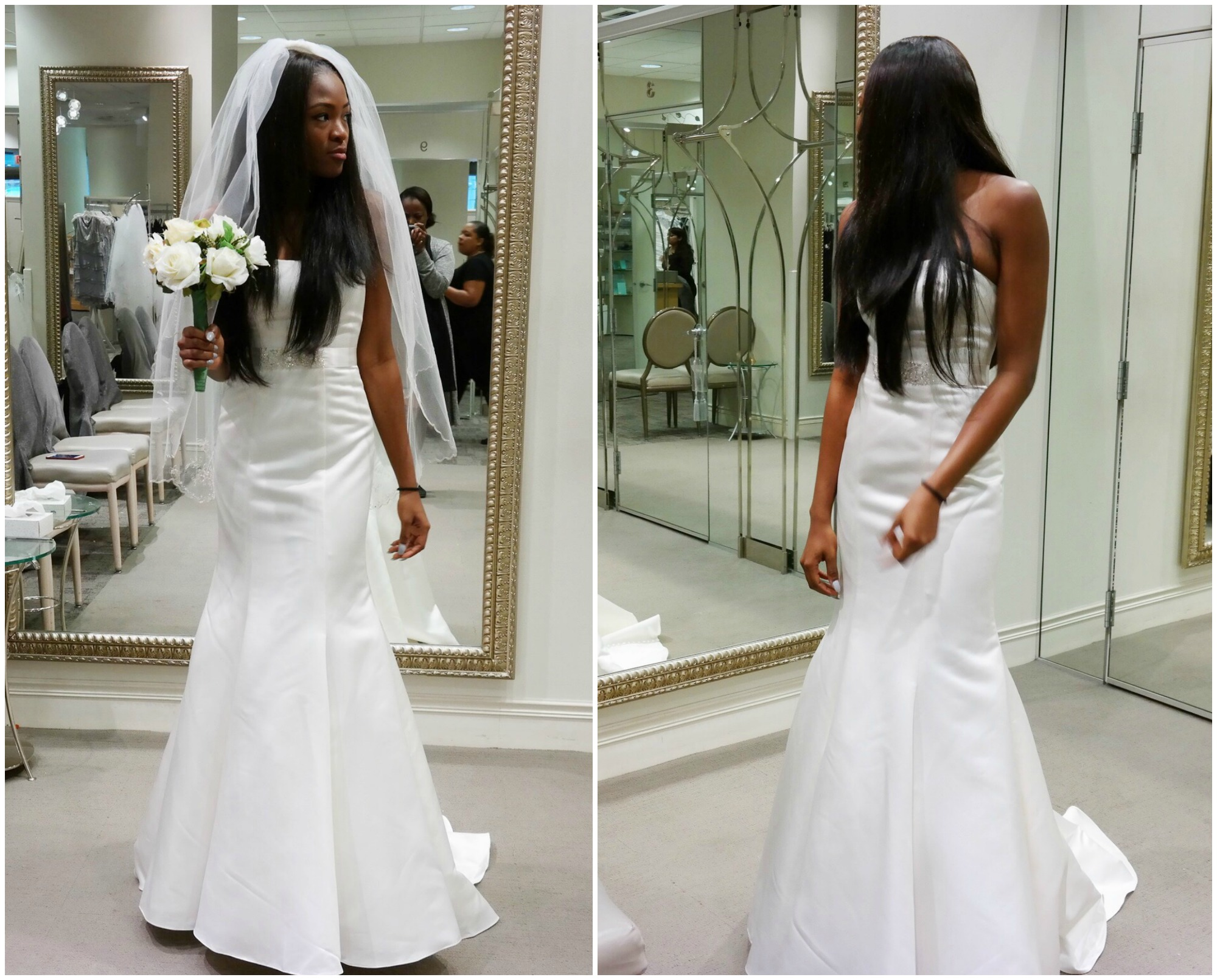 69271a70144ea0 Get your Entire Wedding Look for Under  500 at the David s Bridal ...