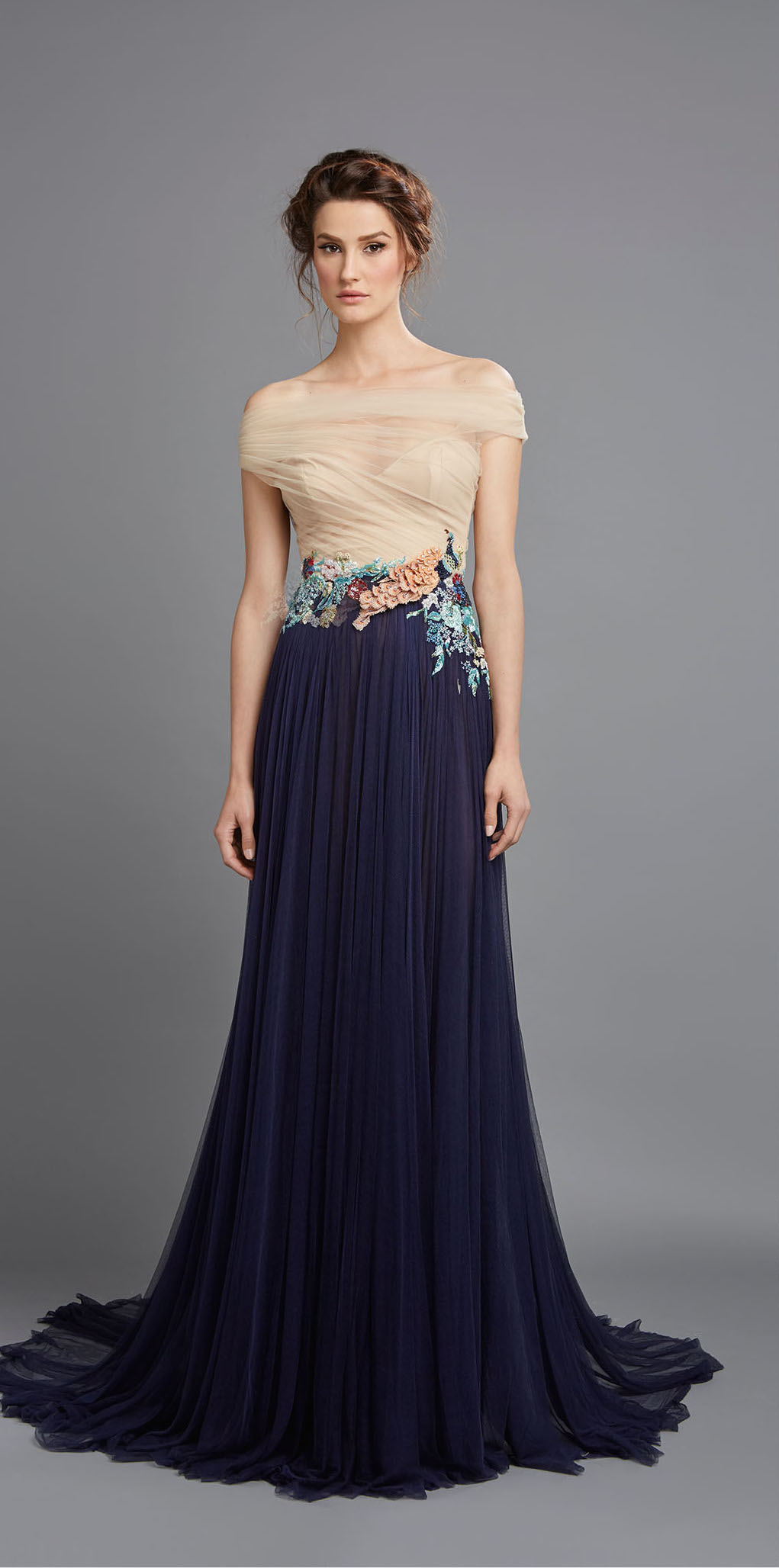 Elegant gowns by hamda al fahim