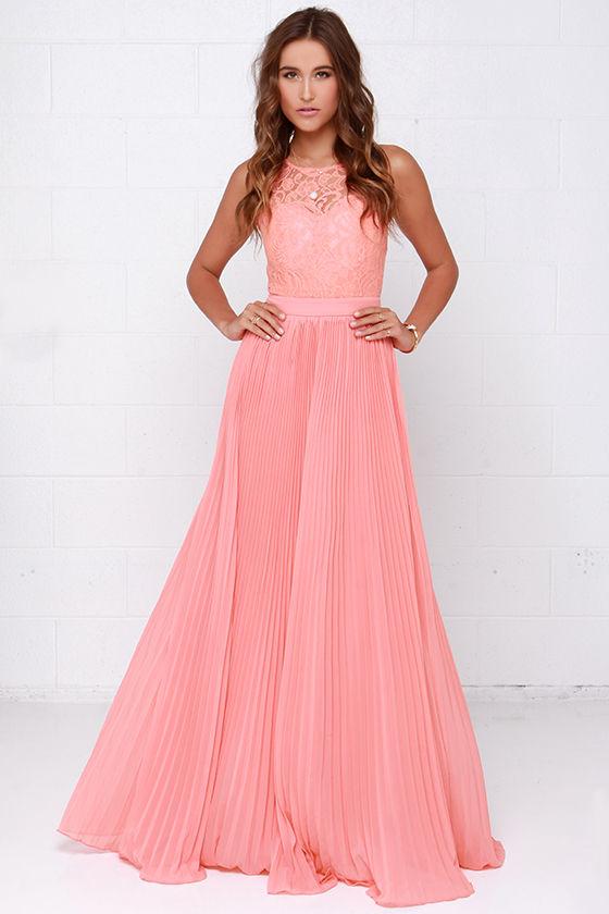 Peach bridesmaid dresses under $100