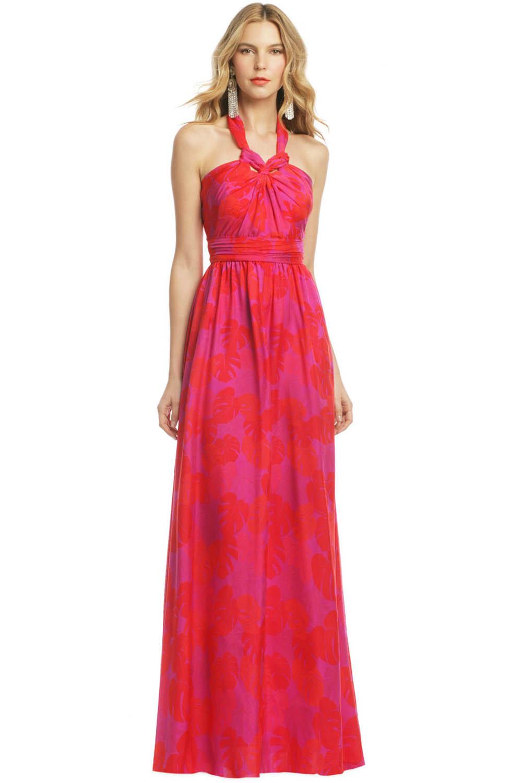 red aisle perfect bridesmaid dress