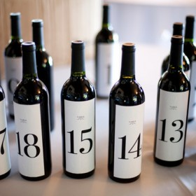 Wine Table Numbers