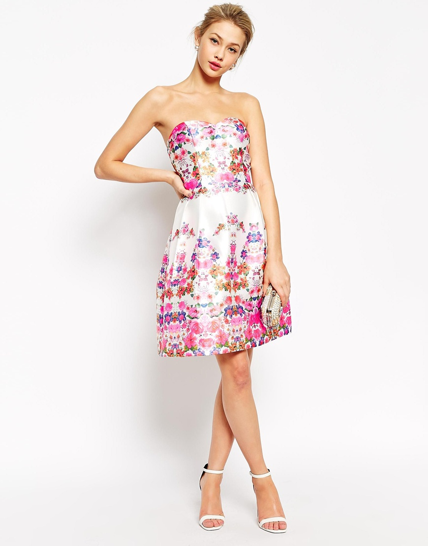 bandeau chi chi london wedding guest outfit