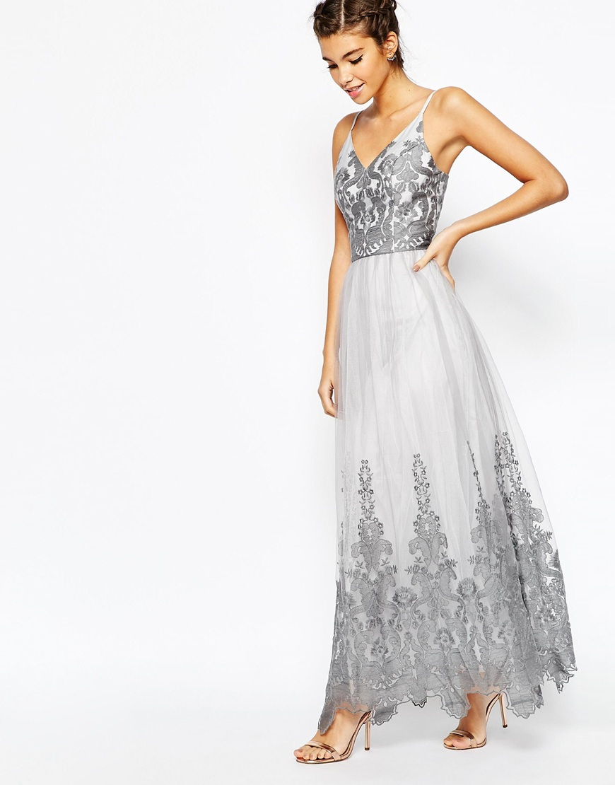 a11b7e4fda2 20 Perfect Wedding Guest Styles By Chi London Perfete Outfits. Grey Wedding  Guest Dress Uk The Best Style In 2018