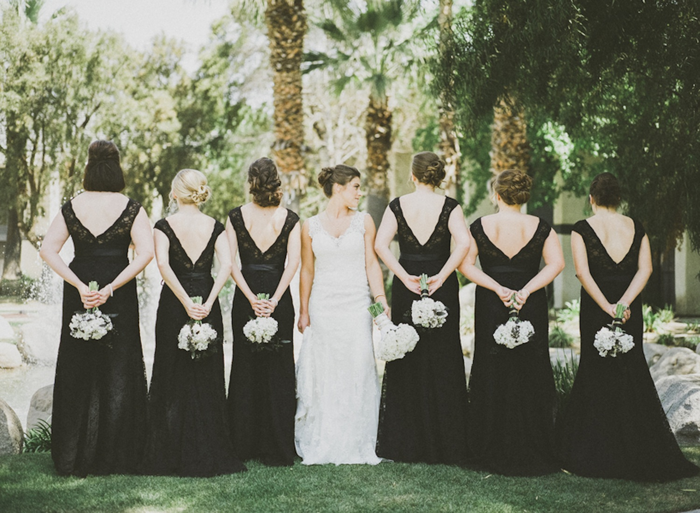 Classic black tie wedding 11