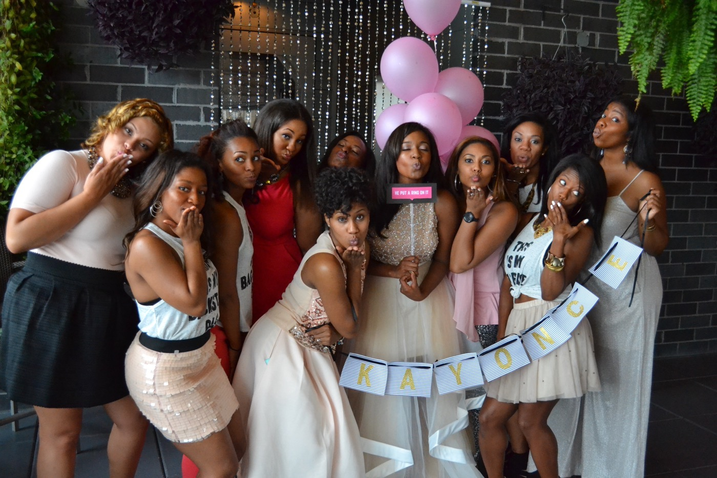 Beyonce themed bridal shower 103