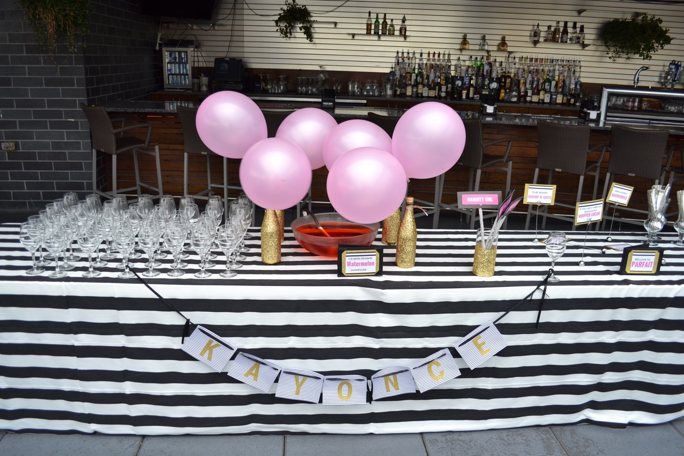 Beyonce themed bridal shower 27