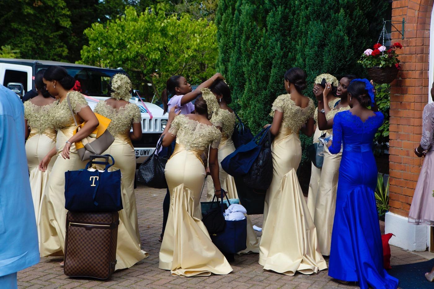 Blue and White Glamorous Grosvenor House Wedding 7