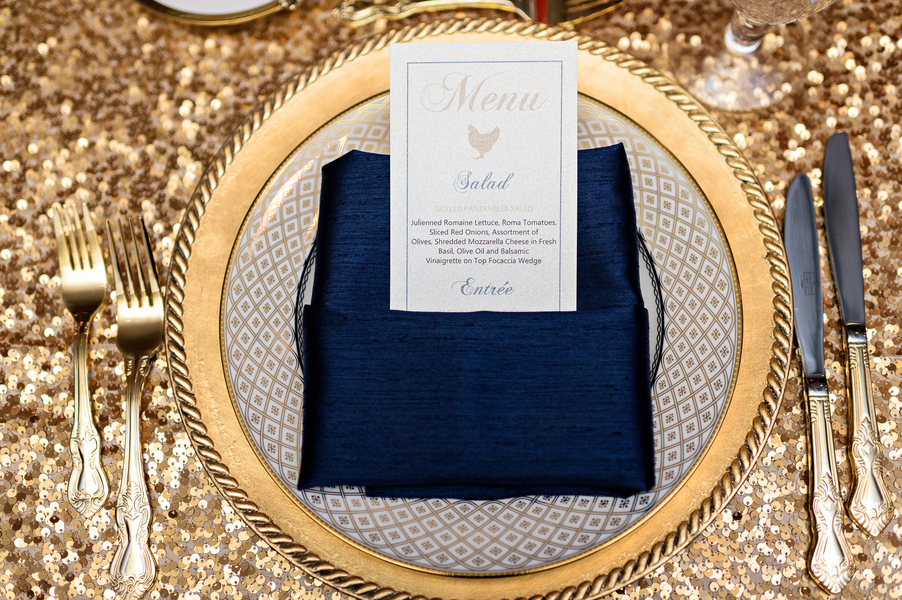 Blue and gold wedding at the casa monica hotel 99
