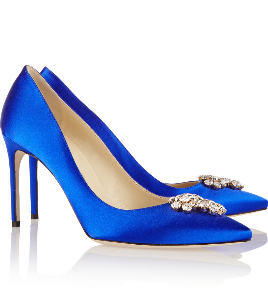 Brian Atwood Something blue shoes