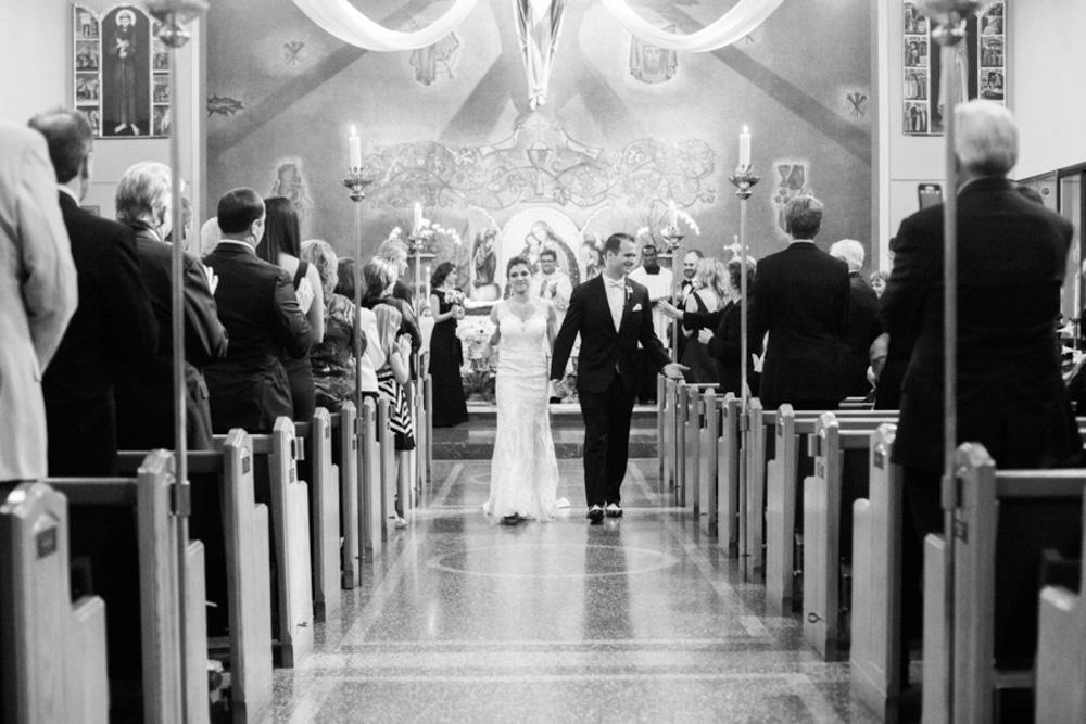 Classic Black Tie Wedding  (17)