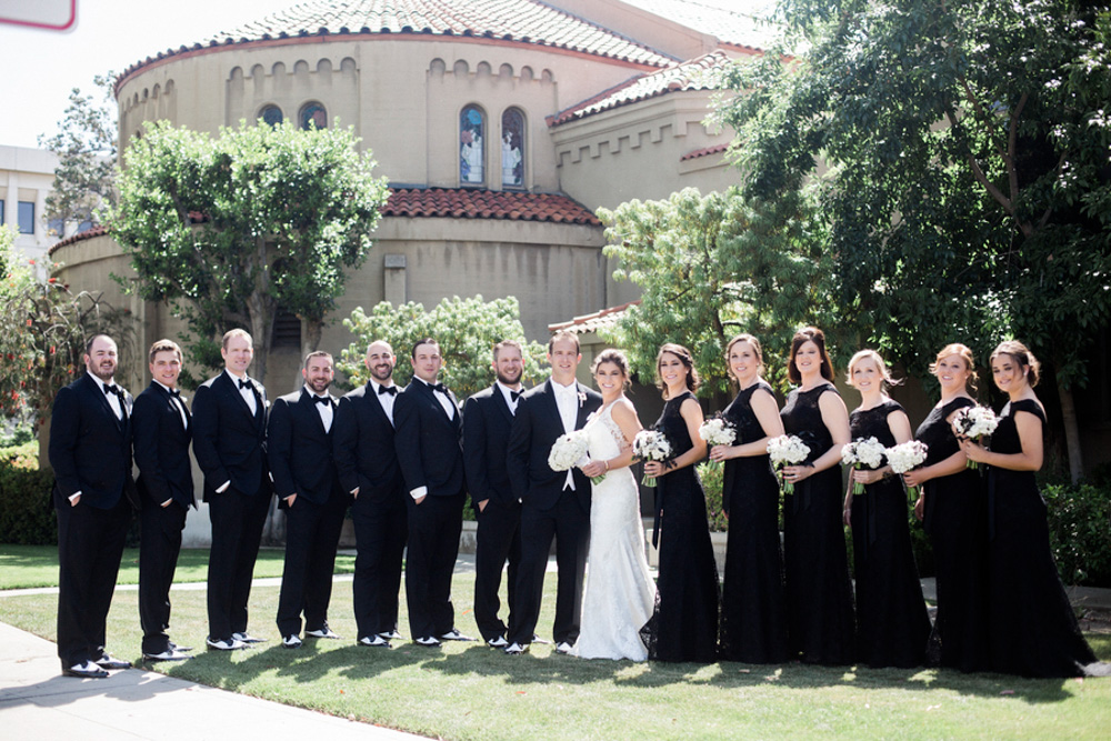 Classic Black Tie Wedding 19)