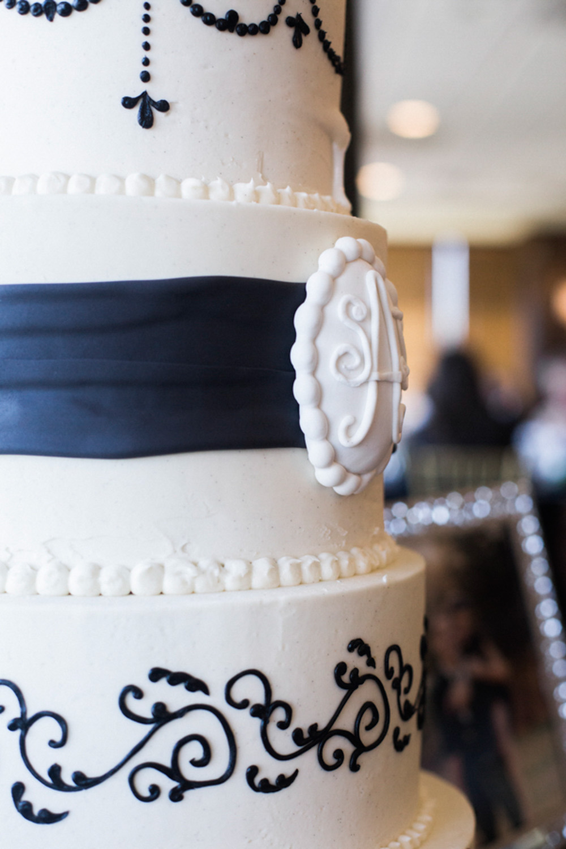 Classic Black Tie Wedding  (22)