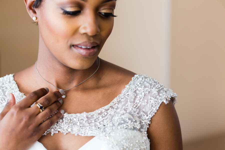 Intimate courtyard wedding by elle danielle photography 16