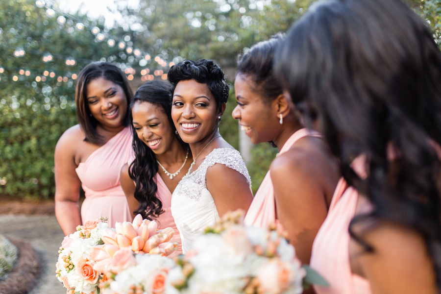Intimate courtyard wedding by elle danielle photography 33