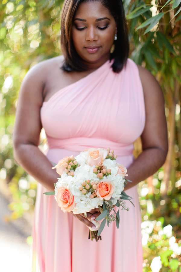 Intimate courtyard wedding by elle danielle photography 34
