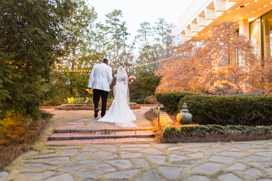 Intimate courtyard wedding by elle danielle photography 62