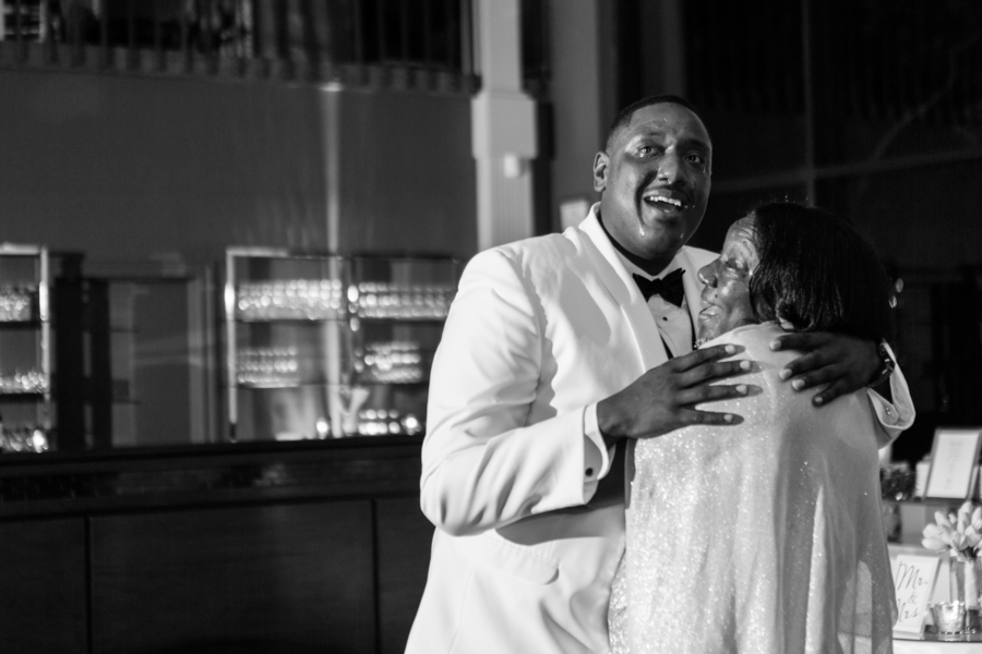 Intimate courtyard wedding by elle danielle photography 74