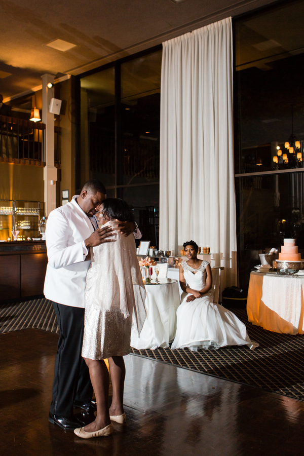 Intimate courtyard wedding by elle danielle photography 75
