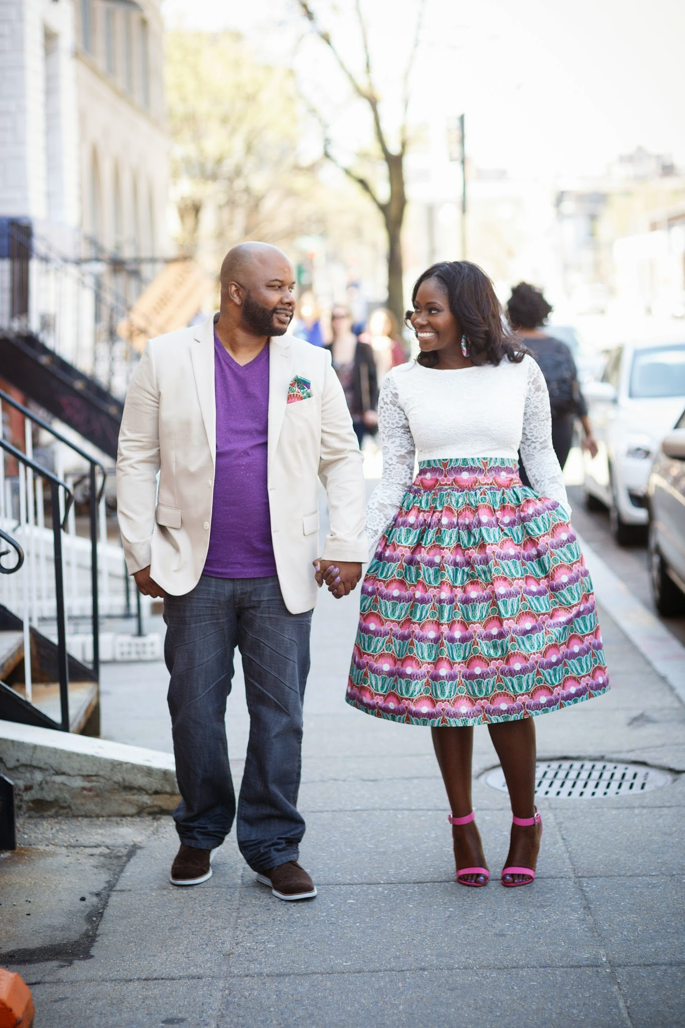 Spring Engagement Shoot in DC 65