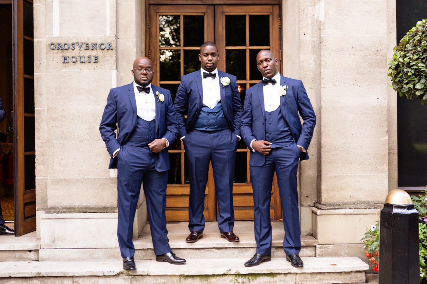 Tayo and Kike's Aisle Perfect Wedding at the Historic Grosvenor house 14