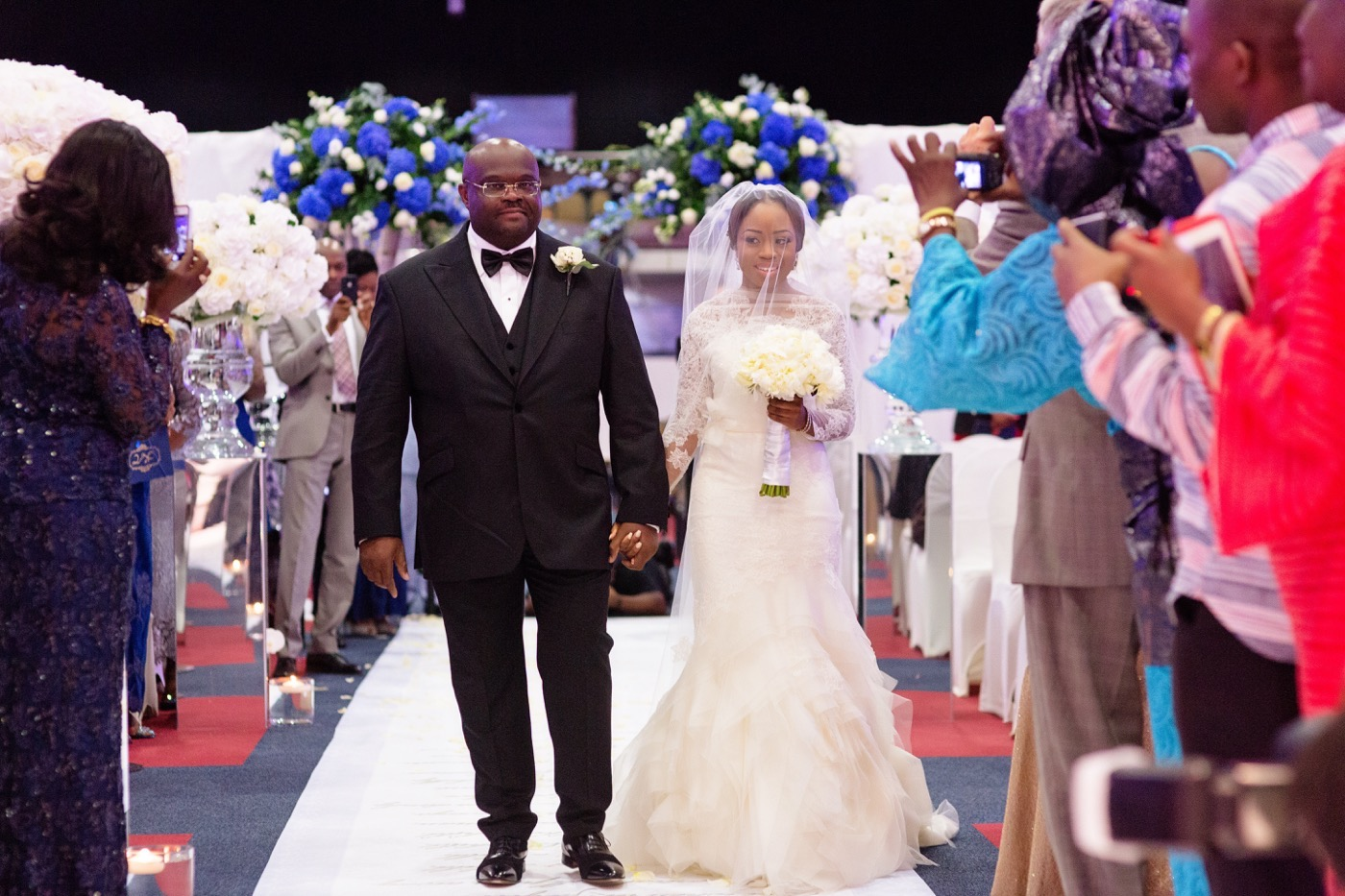 Tayo and Kike's Aisle Perfect Wedding at the Historic Grosvenor house 37