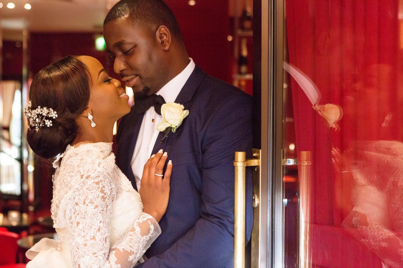 Tayo and Kike's Aisle Perfect Wedding at the Historic Grosvenor house 55