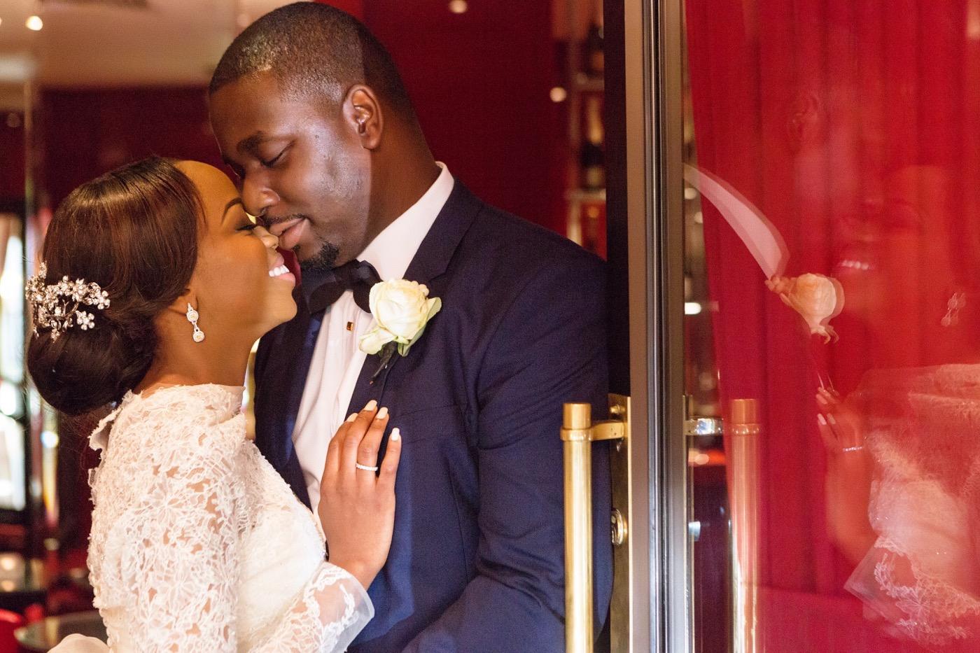 Tayo and Kike's Aisle Perfect Wedding at the Historic Grosvenor house 56