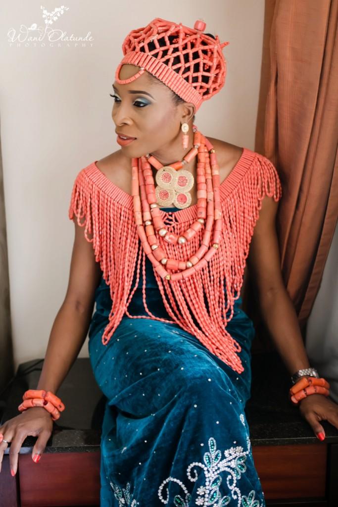 Traditional Edo Wedding by Wani Olatunde 16