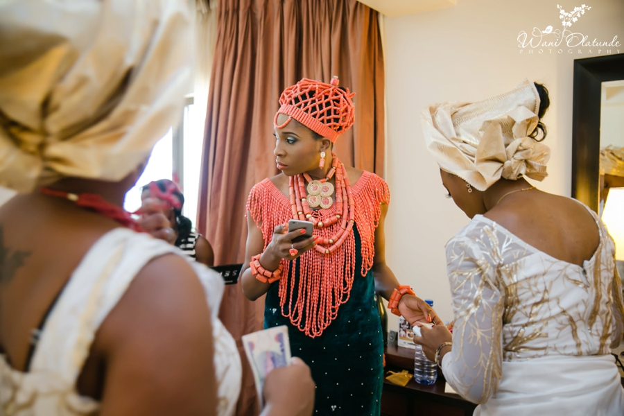 Traditional Edo Wedding by Wani Olatunde 29