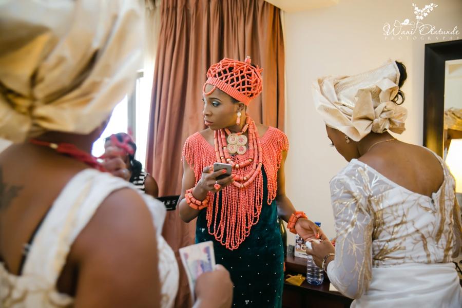 Traditional Edo Wedding by Wani Olatunde 29