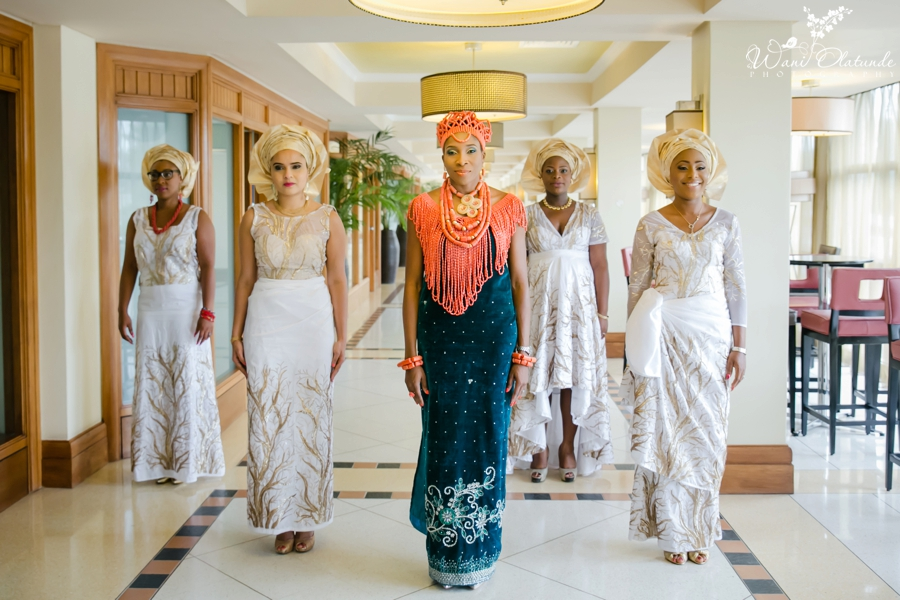 Traditional Edo Wedding by Wani Olatunde 30