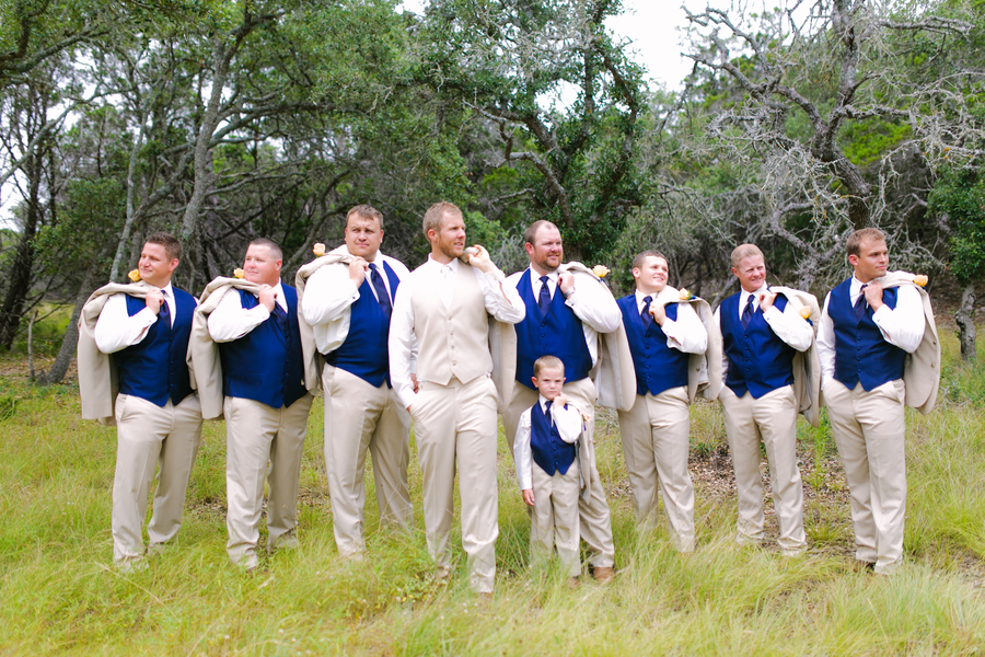 blue and yellow wedding at the Kendall Plantation 18