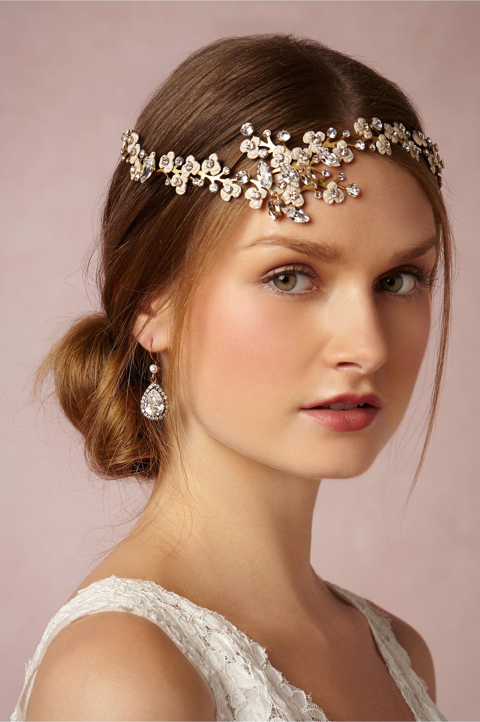 Bridal Headpiece by Bhldn