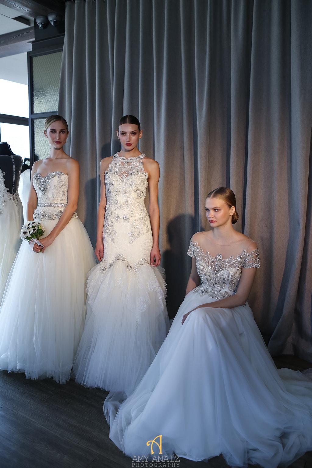 Bridal fashion week recap- badgley mischka 1
