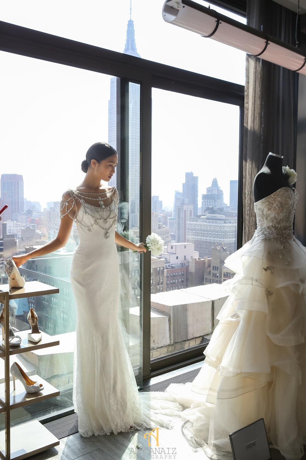 Bridal fashion week recap- badgley mischka 9