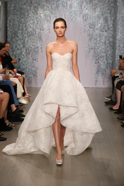 Monique Lhuillier Fall 2016 Bridal - Look 1
