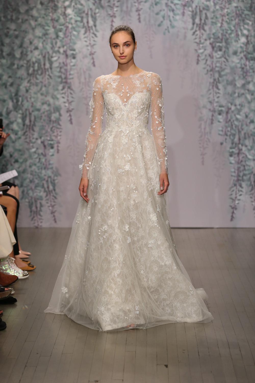 Monique Lhuillier Fall 2016 Bridal - Look 15