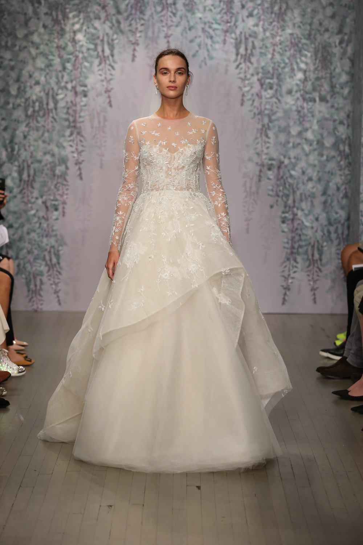 Monique Lhuillier Fall 2016 Bridal - Look 16