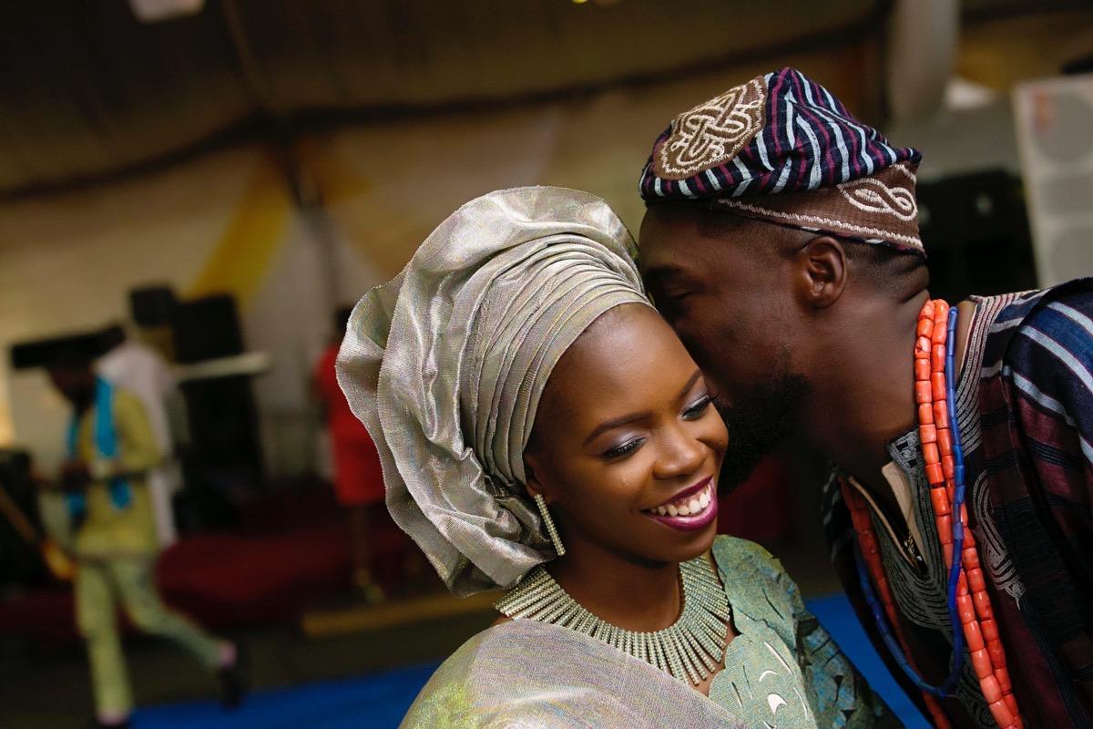 SLAM2014 Traditional Yoruba Wedding in Lagos Nigeria 112
