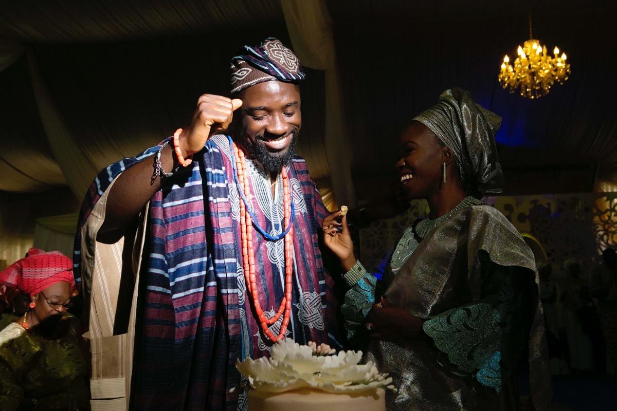 SLAM2014 Traditional Yoruba Wedding in Lagos Nigeria 113