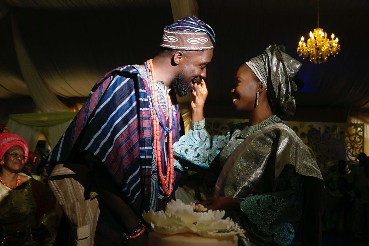 SLAM2014 Traditional Yoruba Wedding in Lagos Nigeria 114