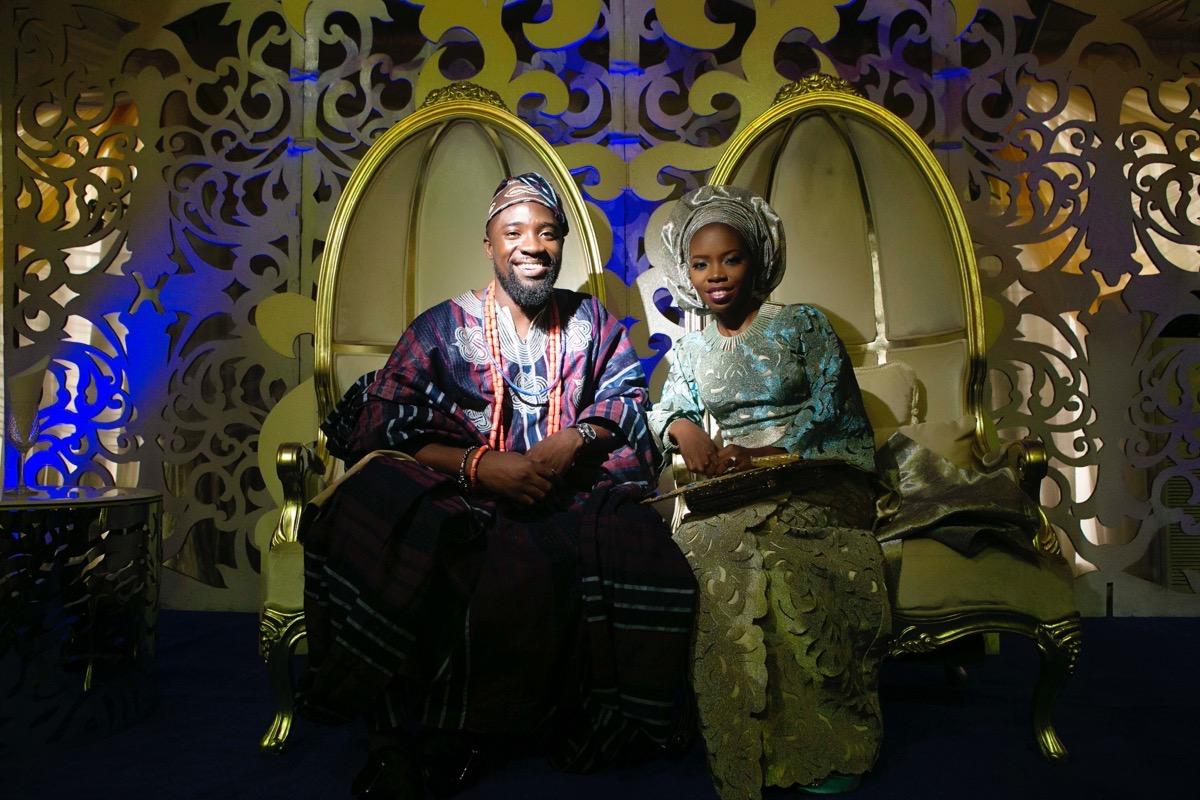 SLAM2014 Traditional Yoruba Wedding in Lagos Nigeria 116