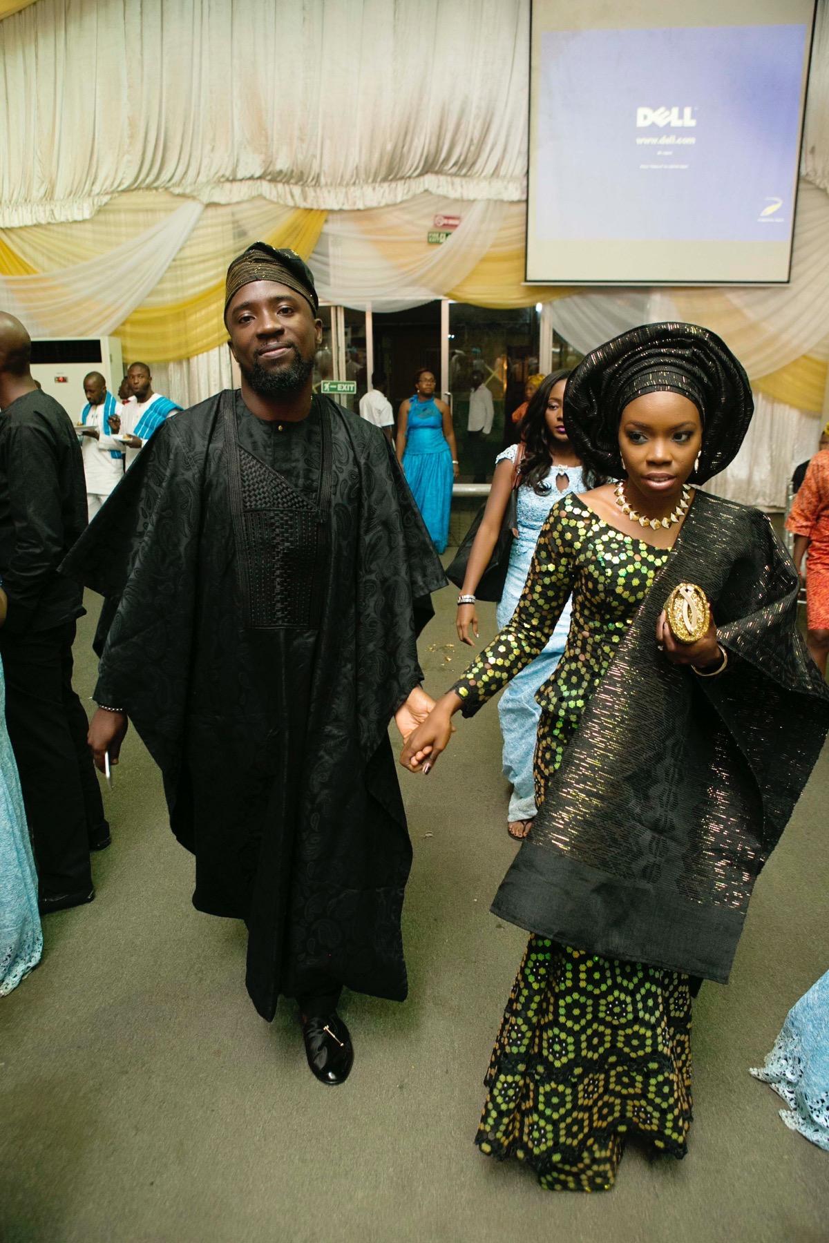 SLAM2014 Traditional Yoruba Wedding in Lagos Nigeria 129