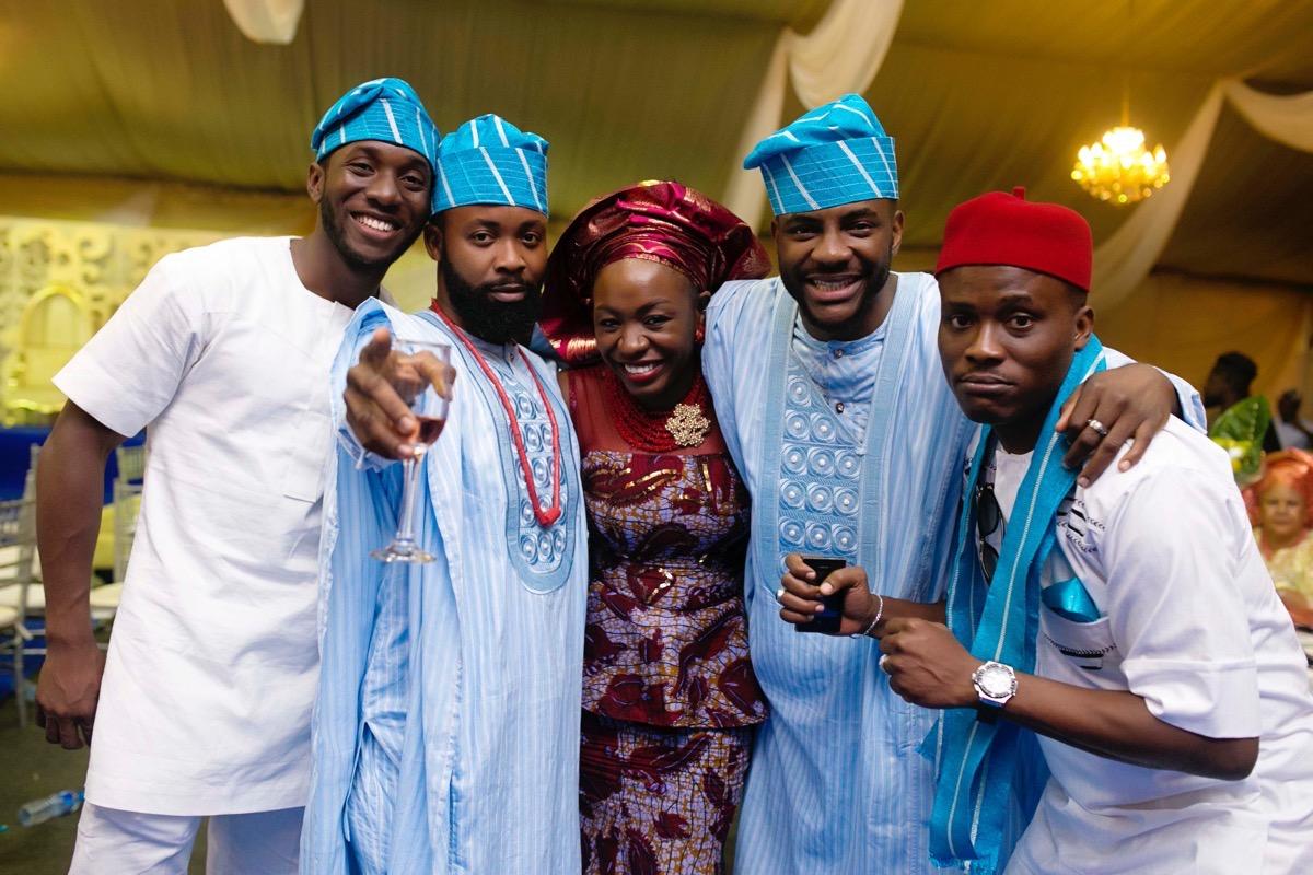 SLAM2014 Traditional Yoruba Wedding in Lagos Nigeria 136