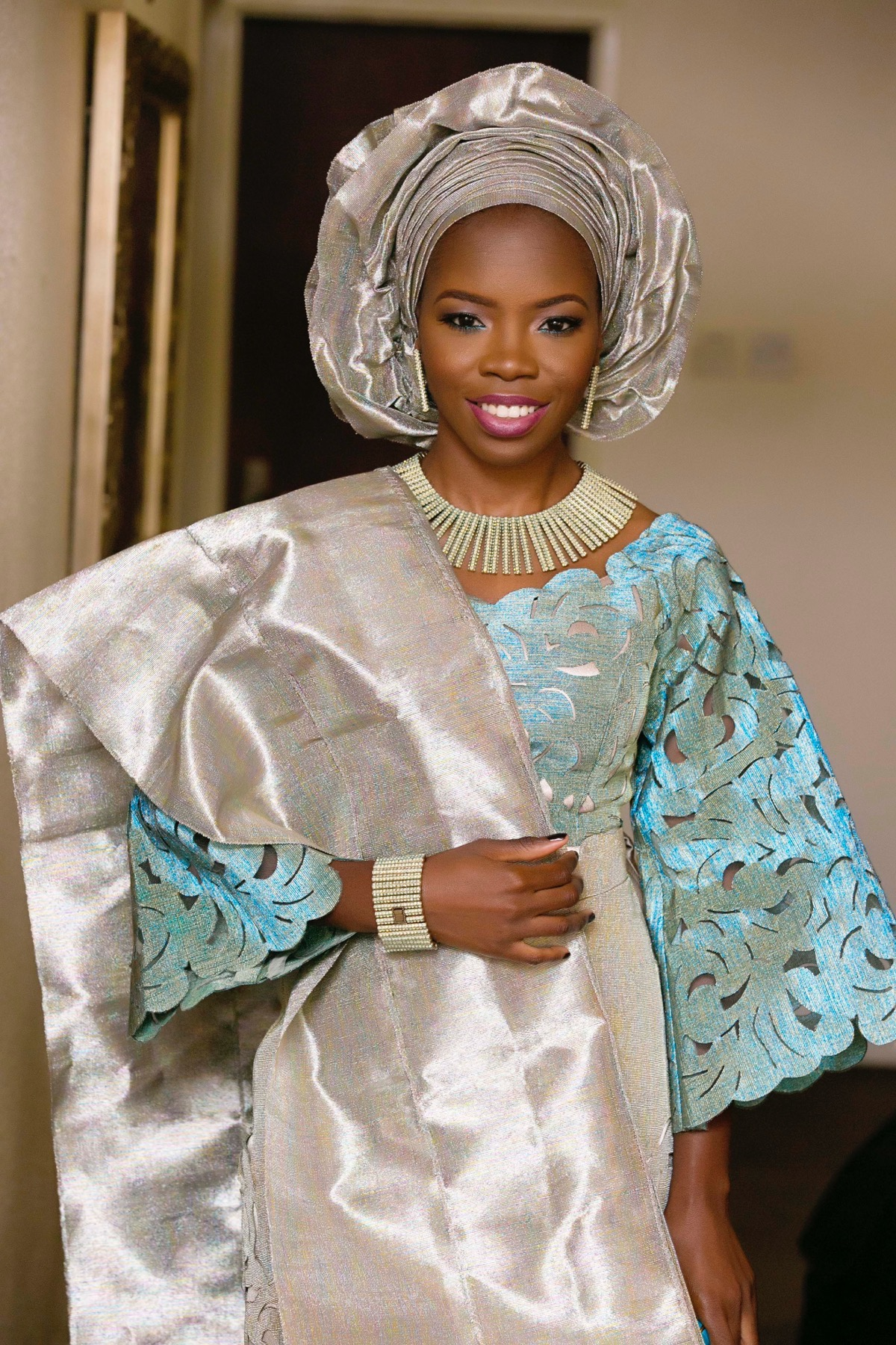 Yoruba traditional wedding in lagos nigeria slam2014 for Nigerian traditional wedding dresses pictures