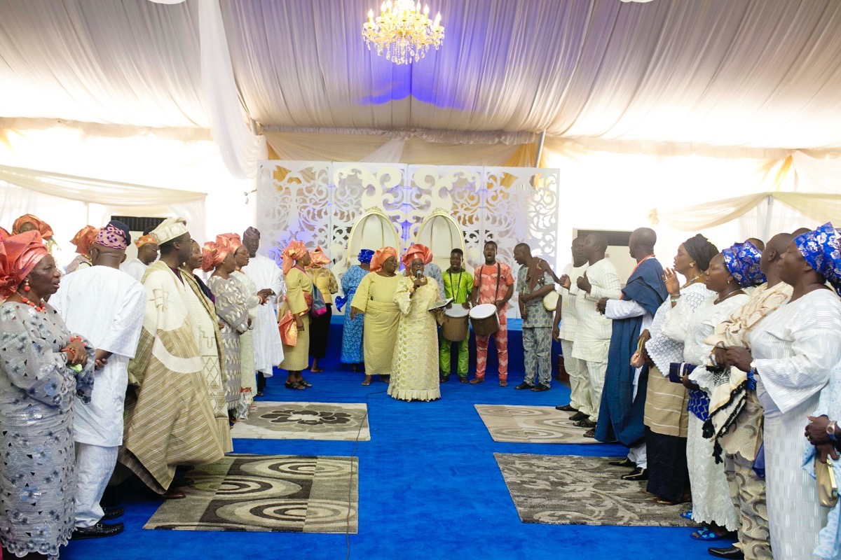SLAM2014 Traditional Yoruba Wedding in Lagos Nigeria 28
